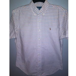 Polo by Ralph Lauren men's short sleeve button up